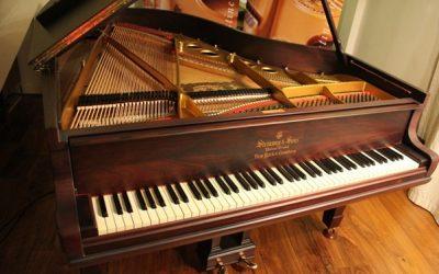 تاریخچه پیانو