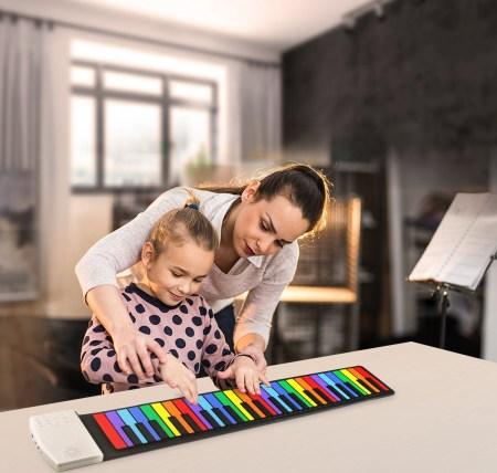 آموزش پیانو با پیانو رولی